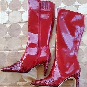 Stefani Ice Ruby Boots. Size: 7.5 Never Worn/Box